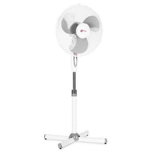 DOMO FS40D Standventilator mit einschaltbarem Nachtlicht und Oszillation Ventilator