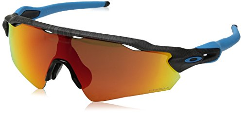 Oakley Men's Radar Ev Path (a) Non-Polarized Iridium Rectangular Sunglasses, Aero Grid Grey, 0 mm
