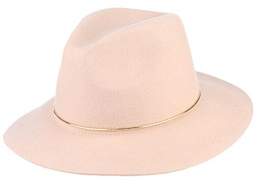 Licus - Sombrero Panamá - para mujer Rosa rosa Medium