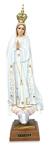 Toccare Handbemalt Our Lady of Fatima Statue-Made in Fatima 9