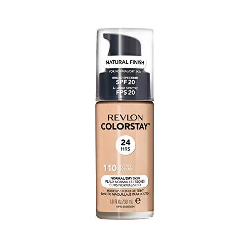 Revlon ColorStay Makeup Foundation für normale bis trockene Haut SPF15#110 Ivory 30ml - Revlon Vitamine