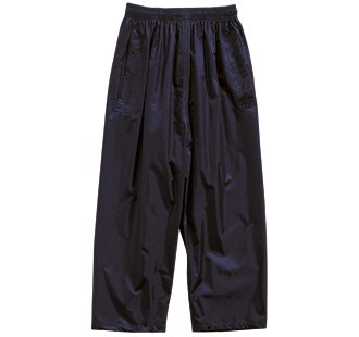 REGATTA CHILDRENS FULLY WATERPROOF TROUSERS - ALL AGES (AGE - 2, BLACK)