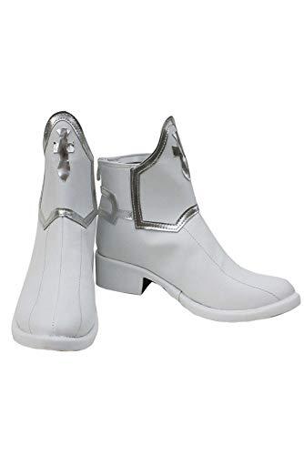 Tianxinshop Sword Art Online Asuna Stiefel Karneval Cosplay Schuhe Boots Damen Weiß