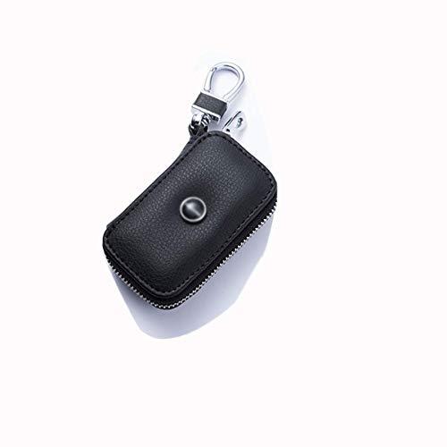 Car Key Case, Autoschlüssel-Signal-Blocker-Tasche Handy-Schutz RFID WiFi NFC-Blocker, Geeignet for Männer Und Frauen 1 (Color : Black) -