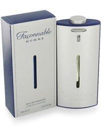 Faconnable Homme pour Les Homme Coffret - 100 ml Eau de Toilette Vaporisateur + 75 ml déodorant Stick