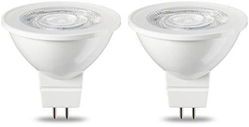 AmazonBasics GU5.3 LED Lampe MR16, 4.5W (ersetzt 35W), warmweiß, 2er-Pack - 36 Led-spot-birne