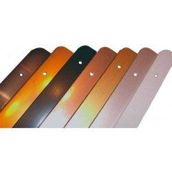 Kantenleiste für Arbeitsplatten, gerade, 30 mm, silberfarben