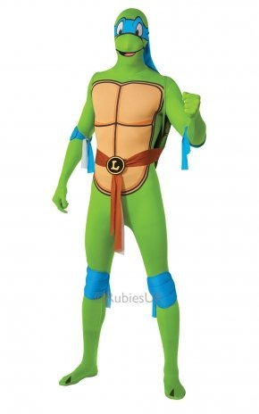 Teenage Mutant Ninja Turtle Leonardo 2nd Skin - Adult Costume Men : MEDIUM by RUBBIES (2nd Leonardo Adult Kostüme Skin)