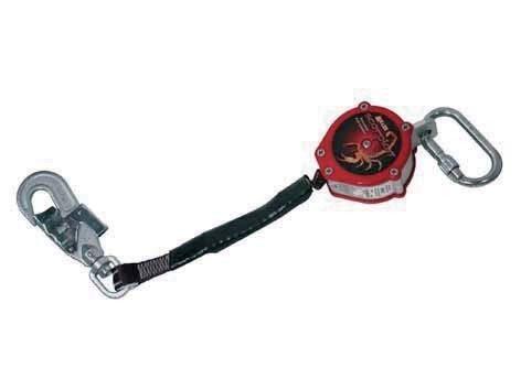 Honeywell 1008587 Miller Scorpion Fall Protection with Karabiner & Swivel Snap Hook