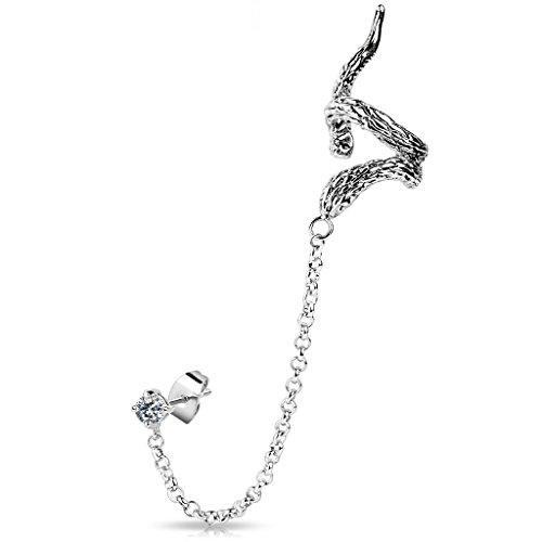 orecchini-avvolgenti-da-donna-forma-a-serpente-a-clip-con-zirconi-in-argento-e-acciaio-inox