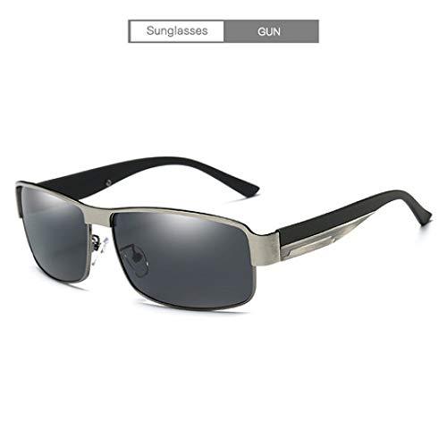 GFLD Sonnenbrille Herren Polarisierte Sonnenbrillen für Männer Klassische Sonnenbrillen, die Linsen Radfahren, Brille