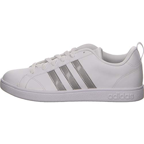 adidas Damen Vs Advantage Tennisschuhe, Weiß (Ftwr White/Ftwr White/Grey Two F17), 43 1/3 EU