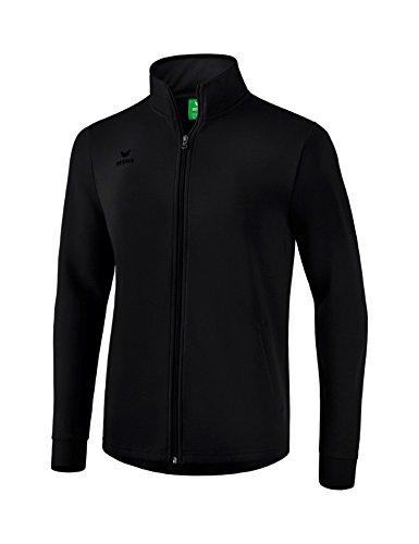 Erima Erwachsene Sweatjacke Jacke, schwarz, M