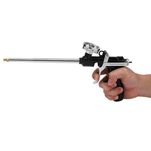 Lukuki Metal Spray PU Foam Expanding Gun Dispensing Polyurethane Insulating Applicator (Foam Dispensing Gun)