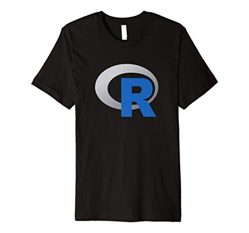 R Offizielle Logo Programmiersprache T-Shirt