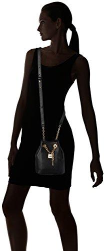 Michael Kors  Hadley Medium, Sac pour femme à porter à l'épaule Schwarz (Black)