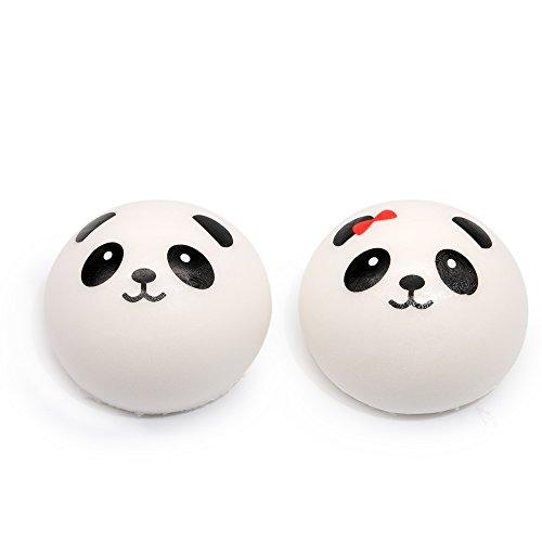 MMTX 2 STÜCKE Super Soft Cut Tier Squishies Panda Kawaii Creme Duftenden Langsam Steigenden Squishy Stressabbau Spielzeug - Stress-bälle Emojis