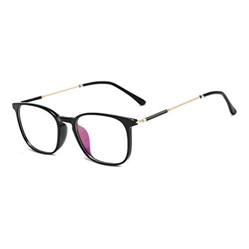 Embryform Dame Durchsichtig klare Linse Klarglas Brille Rahmen Mädchen Unisex Gläser Wechselgläser Brillenfassungen