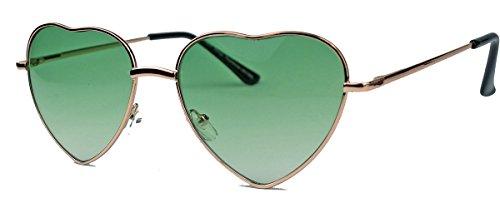 Retro Sonnenbrille in Herzform