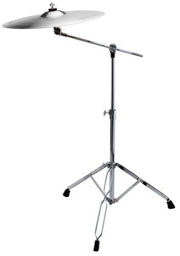 XDrum - Supporto per piatto Semi, altezza regolabile 65 - 103 cm, lunghezza del braccio 44 cm, con Memory-Lock System