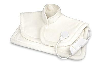 Medisana HP 622 Cuscino Termico per Spalla e Collo, Cuscino Termico con 6 Livelli di Temperatura e Spegnimento Automatico - 61155 by Medisana