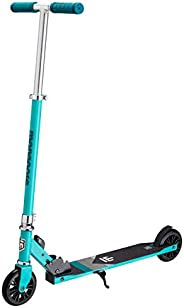 Mongoose Trace Youth/Adult Kick Scooter Folding and Non-Folding Design, Regular, Lighted, and Air Filled Wheel