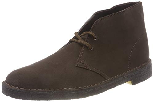 Clarks Originals Boot, Stivali Desert Boots Uomo, Marrone (Brown Suede-), 41 EU