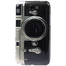 Hard Case / Cover caméra Samsung Galaxy Note 2 / GT-N7100, Galaxy Note 2 LTE / GT-N7105 avec l'objectif étui de protection couverture arrière de Shell Vintage