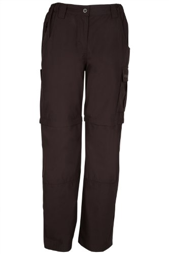 Mountain Warehouse Trek Womens Zip-Off Trousers - Convertible into Shorts and Comfy, Great for Travelling, Hiking and Walking in Warmer Climates - Lightweight and Fast Drying