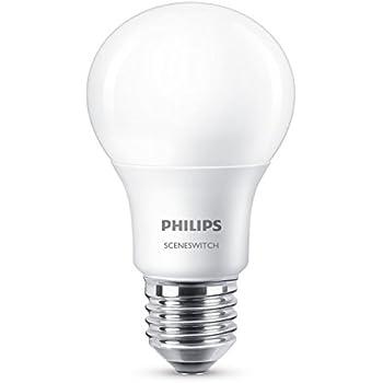 Philips Pera Bombilla LED GLS, Casquillo E27 5 W, Blanco, 320 lm