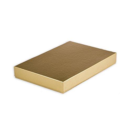 Giftismo Caja de regalo decorativa hecha a mano para Navidades, cumpleaños, bodas o regalos. ILONA - 30,5x21x4 cm.
