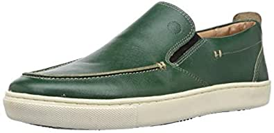 Ruosh Men's Green Leather Loafers-7 UK/India (40 EU) (1831062250_7)