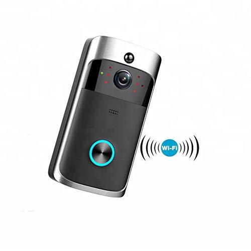 NZ-doorbell Intelligente Geräte für den Heimgebrauch Smart Phone WiFi Wireless Control Türklingel mit IP 720 p Kamera Dual Voice Way Control (Kamera Wireless Control)