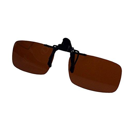 Coconut Brillen polarisierten Klipp auf Flip Up fahren Sonnenbrille
