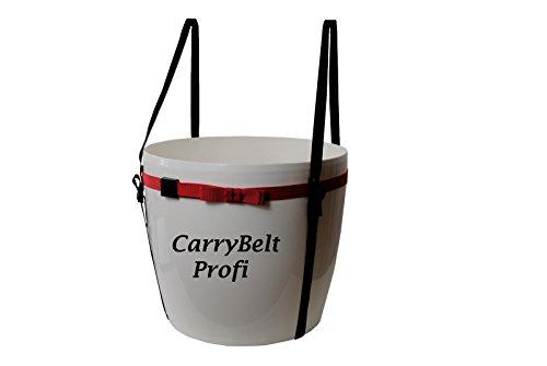 """CarryBelt \""""Brest Profi - Caddy Tragegurt Profi/Tragehilfe für Blumenkübel bis 60cm Durchm. / 190cm Umfang - Haltegurt - Kübelpflanze"""