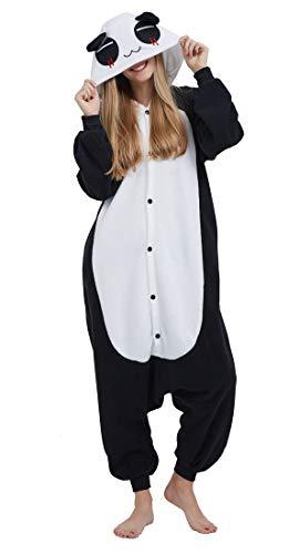 SAMGU Einhorn Adult Pyjama Cosplay Tier Onesie Body Nachtwäsche Kleid Overall Animal Sleepwear Erwachsene Panda L