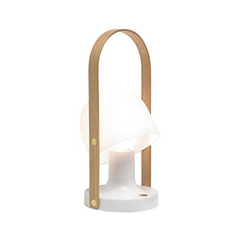 Marset FollowME mobile lámpara LED con batería, color blanco ø12.3cm h28.8cm 2700K 240LM