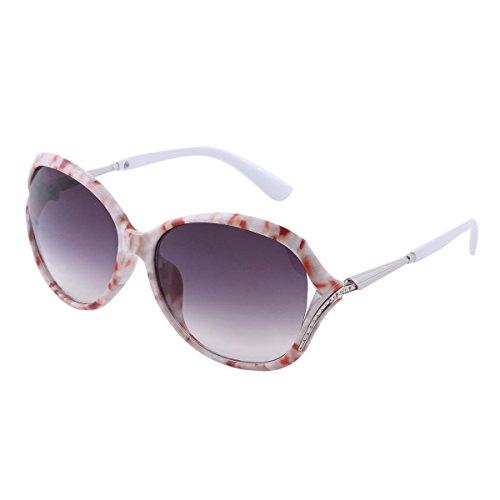 Ultra® Bright Black Frame bleu lentilles relevez cercle Steampunk haute qualité lunettes lunettes Retro rond Cyber UV400 UVA UV Top qualité High lunettes de soleil dont une microfibre transporter poch h6Z6TvMl