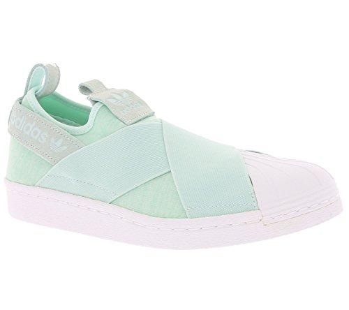 Adidas Superstar Slip On Damen Sneaker Grün Green