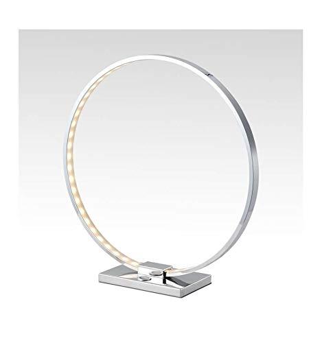 Lampe à poser design chrome LED tactile 3 intensités - Collection Circle KOSILUM - IP20 - Classe énergétique : A - 220/230V 50/60Hz - - 850 lm - Argenté / Chromé - Descriptif technique du luminaire :Culot de l'ampoule :LED intégrée   Nombre d'ampoules : LED intégrée   Indice de protection : IP20   Puissance :   Tension : 220/230V 50/60Hz   Poids du luminaire : 0,76 kg   Poids du colis : 1,37 kg - KOSILUM