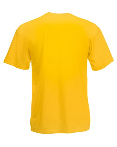 Fruit of the Loom Valueweight V-Ausschnitt Tee Sonnenblume