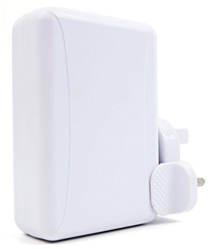 Preisvergleich Produktbild DURAGADGET Ladestecker USB 4 Fach mit 3 Pinstecker (UK) für Ihren Roboter Cozmo und Anderen USB fähigen Geräten
