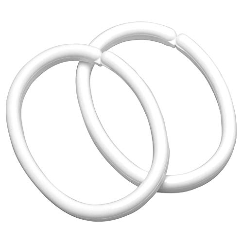 Set di 12 anelli in metallo per tenda doccia Ridder 495000-350
