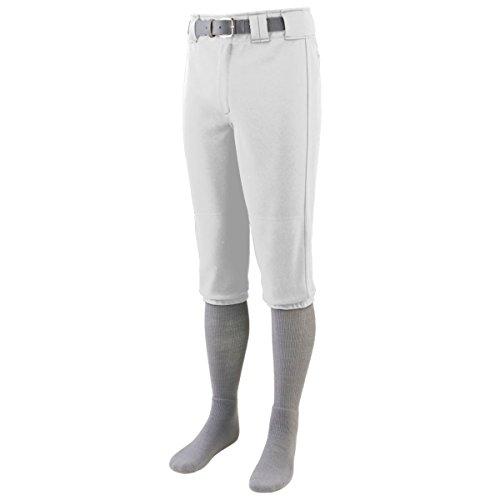 Augusta Sportswear Men'S Series Knee Length Baseball Pant M White