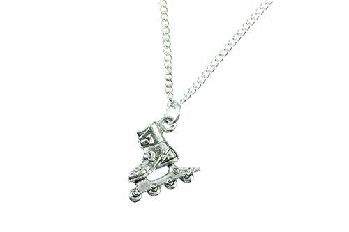 patines-roller-blades-miniblings-cadena-de-45-cm-en-linea-patines-de-plata