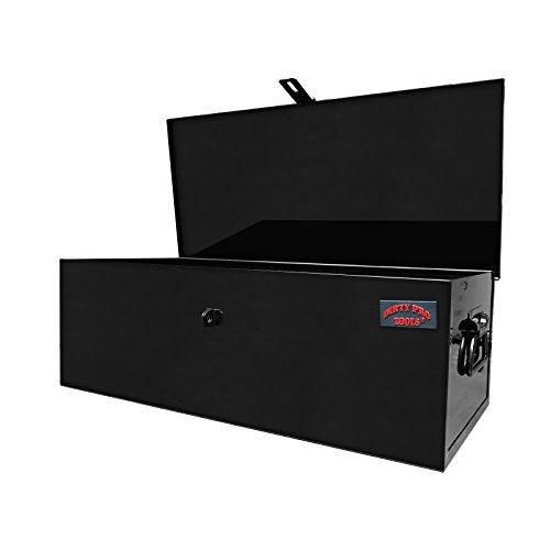 Stahl Brust-tool-box (Werkzeugkiste Werkzeugkasten Werkzeug Stahl Metall Van für den Außenbereich Baustellen Sicherheit Garage Kommode mit Truck Vault Brust)