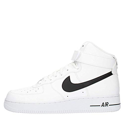 Nike air force 1 high '07 an20, scarpe da basket uomo, white/black