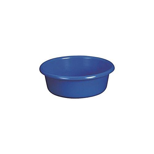 ALUMINIUM ET PLASTIQ Cuvette Ronde d32x11cm 5l Bleu
