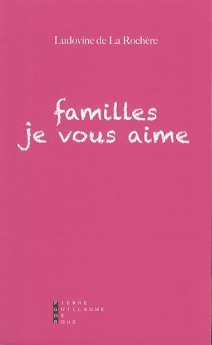 Familles je vous aime