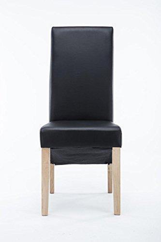 CLP Sedia da pranzo con schienale alto, sedia imbottita LASINA in ...